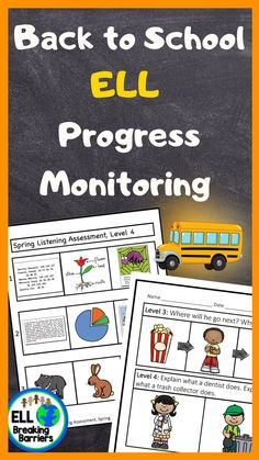 This mega bundle provides you with progress monitoring assessments for ESL ELL EFL EAL ESOL students in grades K-5. Please carefully read which assessments are included as the bundle is GROWING and not yet fully complete. I will update this product as the assessments are complete and send you a note regarding the update when posted. First Grade, Second Grade, Progress Monitoring, Teaching Resources, Teaching Ideas, Elementary Teacher, Ell, Fourth Grade, Life Skills