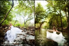 Opt for the day after/ trash the dress/ unique session!  You get a second chance to get the best of the best photos in the location that you wish you could've gotten married at... and often your dress ends up fine when it's all said and done!