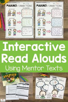 These interactive read aloud lesson plans use 75 different picture books to teach over 40 different reading comprehension skills. Each lesson has a carefully selected picture book to use as a mentor text. This resource is perfect for the 2nd, 3rd, 4th, or 5th grade classroom! #interactivereadalouds #readalouds #mentortexts Text To World, Text To Text, Confusing Words, Interactive Read Aloud, 5th Grade Classroom, Reading Comprehension Skills, Mentor Texts, Picture Books, Guided Reading
