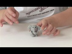 How To Create a Fondant Baby Elephant