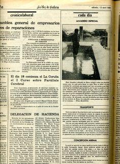 Un lavadoiro especial - 12 de abril de 1980 Identity, Entrepreneur