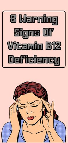 Mineral deficiencies are more common than vitamin deficiencies, statistics shows that one in four adults deals with lack of vitamin B12. In this article we will cover the symptoms and causes of vitamin B12 deficiency, plus you will get a few easy tips on how to regulate that. Mineral Deficiency, B12 Deficiency, Healthy Weight, Healthy Tips, Healthy Choices, Healthy Drinks, Health Advice, Health And Wellness, Health Fitness