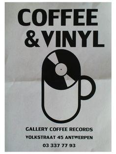 Logo Coffee & Vinyl, Antwerpen