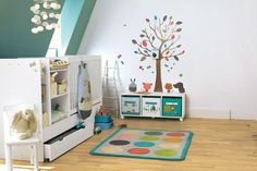 Creature Comforts - Kids' Bedroom Ideas - Childrens Room, Furniture, Decorating (houseandgarden.co.uk)
