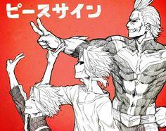 My Hero Academia // BNHA // Toshinori Yagi // All Might