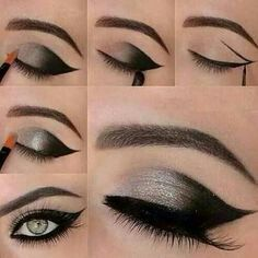 Meow! Happy Halloween! Click the link in my bio located here at @LashinFashion for a special Cat Eye Makeup Tutorial treat and beauty tips! Picture source: pinterest.com #HalloweenMakeup #cateyemakeup #HollywoodMakeup #Younique #YouniqueMakeup