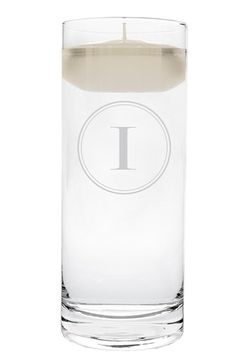 Cathy's Concepts Personalized Floating Unity Candle - White