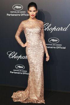 Chopard Gold Party - May 18 2015 Sara Sampaio.