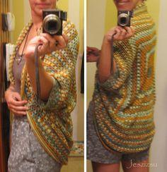Granny Square Cocoon free crochet graph
