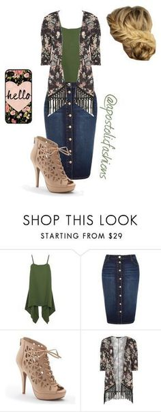 """Apostolic Fashions #1247"" by apostolicfashions on Polyvore featuring Valentino, River Island, Apt. 9 and Dorothy Perkins"