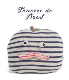 New Apple with Stripes  #goodies #oeufnyc #pillow #stripes