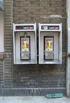 Co-dependency I, Phones, NYC. 2007