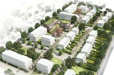 3. Preis: © Konrath und Wennemar Architekten / Visualisierung: Björn Rolle
