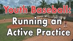 Coaching Youth Baseball tips and drills including: how to run an active practice, hitting fundamentals, pitching fundamentals and infield play.