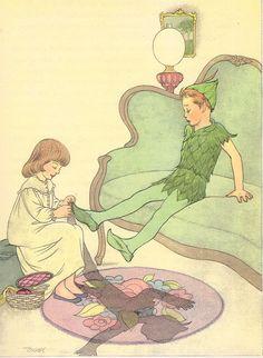 Peter Pan illustrated by Marjorie Torrey (1957)