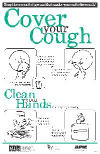 Cover Your Cough Poster for the community -CDC