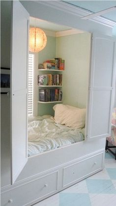 Nook :) Guestroom? maybe a little wider. double/full size.