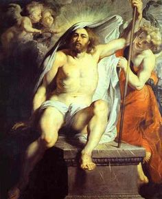 'Christ risen' by Rubens