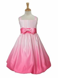 Love Ombre, it looks adorable on this flower girl dress.