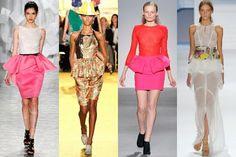 Spring 2012 fashion trends: Bright colors, structured silhouettes, and '50s inspiration