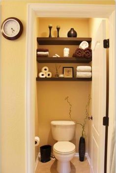 Perfect for a small bathroom - I like the shelves for our soon to be new half bath.