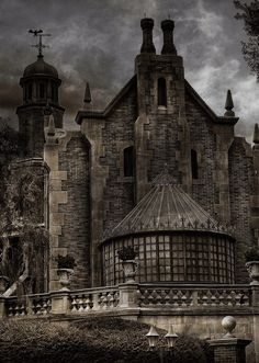 ♠️it's a long night..... When darkness falls....especially if you are alone and near an abandoned mansion deep in the wilderness...
