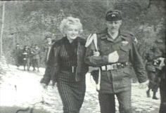 Marilyn Monroe in Korea, February 1954.