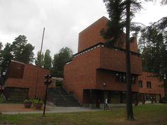Alvar Aalto, Civic Center. Saynatsalo, Finland. 1949-52 #architecture #finland