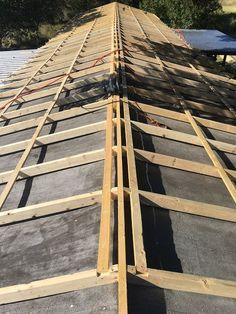 How To Build A Pitched Roof Over A Flat Roof Google