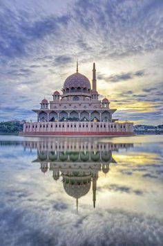 Putra Mosque in Malaysia,