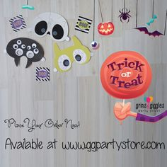 Wohoo! Spooky halloween at our webstore. Simply go to www.ggpartystore.com for more spooky collection! :)