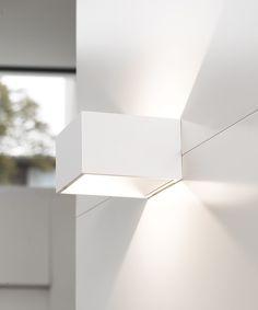 LEDlux Kube 6W Wall Bracket in White