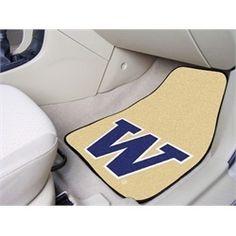 University of Washington Car Auto Floor Mats Front Seat!