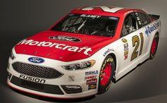 Jayski's® NASCAR Silly Season Site - 2016 NASCAR Sprint Cup Series #21 Paint Schemes