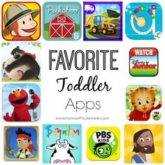 Favorite Toddler Apps - Moms Without Answers