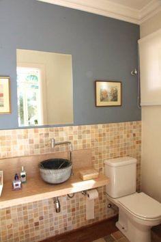 Lavabo : Salle de bain coloniale par Ornella Lenci Arquitetura