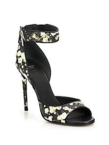 Givenchy Printed Baby's Breath Sandal