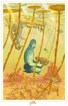 Abe Sapien by Dalton Rose