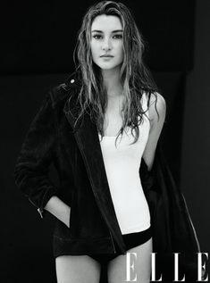Shailene Woodley in Elle Women in Hollywood 2013 Issue