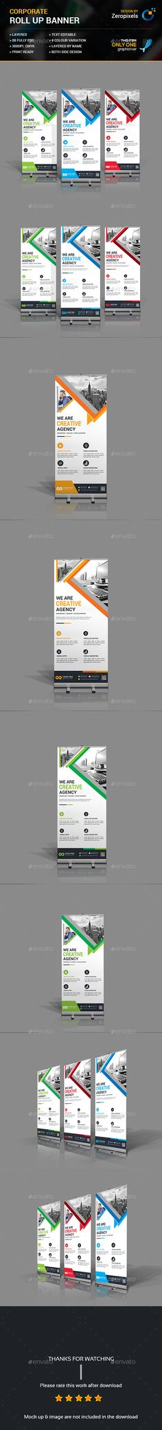 Corporate Rollup Banner Bundle