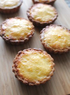 Food Endeavours of the Blue Apocalypse: Vietnamese Coconut Tartlets