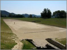Track in Ancient Olympia, Greece I stood here.where it all began Oh The Places You'll Go, Places Ive Been, Olympia Greece, Places In Greece, Countries To Visit, Ancient Greece, Greece Travel, Travel Agency, Greek Islands