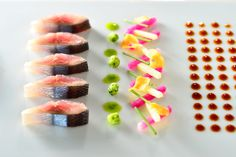 TAKAZAWA's modern sashimi.