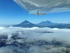 Guatemala City View Fly at MGGT