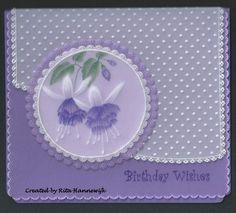 T T fushia in lilac so beautiful