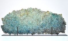 Mira Woodworth, artist and genius. Recycled glass. #Art #Glass #Recycled