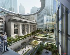 som grand central station project | ... Grand Central Terminal's public realm, along with Foster + Partners