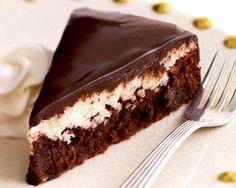 Chocolate Almond-Coconut Cake