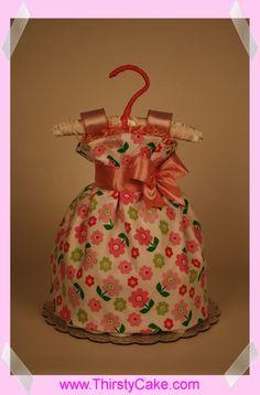 Bebek hediyesi-bez dolu elbise