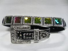 Image detail for -western crystal bling belts, bling003, Rhinestone Belts & Western ...